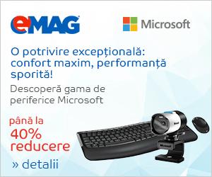 Campanie de reduceri [IT] Periferice Microsoft, 30 mai- 05 iunie