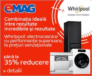 Campanie de reduceri Stock Busters - Electrocasnice mari Whirlpool