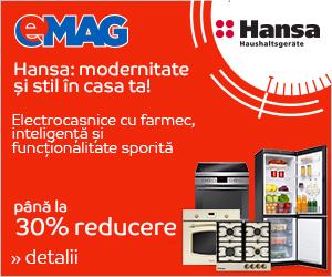 Campanie de reduceri Stock Busters - Electrocasnice mari Hansa