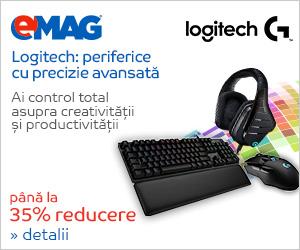 Campanie de reduceri [IT] Campanie periferice Logitech pana la 35%, 21- 31.05.2018