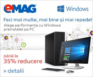 Campanie de reduceri [IT] Desktopuri cu Windows- pana la 35%, 23- 29.05.2018