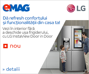 Campanie de reduceri LG InstaView
