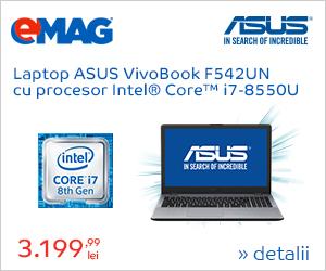 Campanie de reduceri [Laptops] Laptop ASUS cu procesor Intel i7, 25.05- 04.06.2018