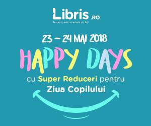 Campanie de reduceri Happy Days cu Super Reduceri pentru Ziua Copilului!