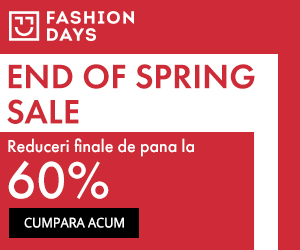 Campanie de reduceri End Of Spring Sale - reduceri de pana la 60%