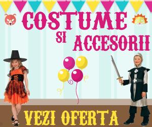 Campanie de reduceri Costume si accesorii pentru serbare