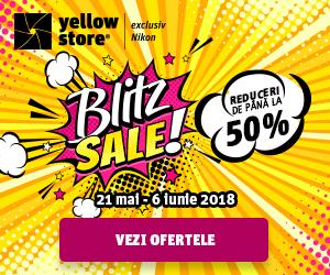 Campanie de reduceri Blitz Sale!