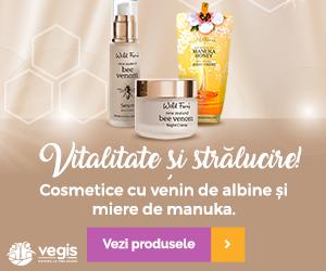 Campanie de reduceri Cosmetice cu venin de albine