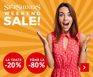 Campanie de reduceri Weekend Sale - StarShinerS