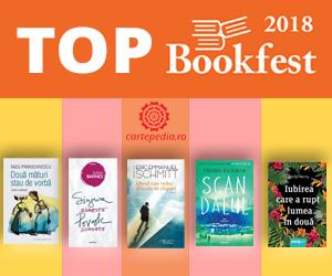 Campanie de reduceri Topul Bookfest din acest an cu noutati si reduceri pe masura!