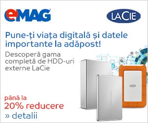 Campanie de reduceri [IT] HDD-uri externe Seagate LaCie,  04- 11 iunie 2018