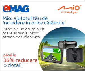 Campanie de reduceri Camere si sisteme de navigatii MIO- pana la 30% reducere