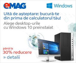 Campanie de reduceri [IT] Desktopuri cu Windows, 07- 12.06.2017
