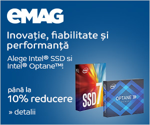 Campanie de reduceri [IT] SSD-uri Intel 7 si Optane, 12- 18.06.2018