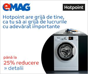 Campanie de reduceri Electrocasnice mari Hotpoint