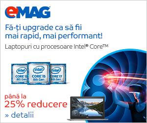 Campanie de reduceri [Laptops] Laptopuri cu procesor Intel PC Refresh, 05- 15.06.2018