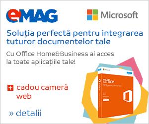 Campanie de reduceri [IT] Office H&B + camera web cadou, 06- 12.06.2018