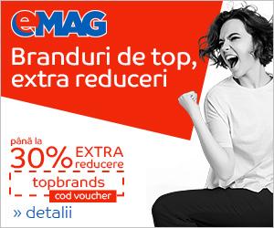 Campanie de reduceri Top Brands iunie 2018