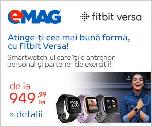Campanie de reduceri Noul Fitbit Versa