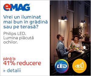 Campanie de reduceri pana la 41% reducere la iluminat exterior Philips