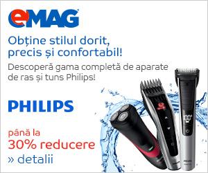 Campanie de reduceri [Aparate ingrijire personala] Reduceri la aparatele de ras si tuns Philips