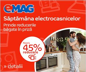 Campanie de reduceri Saptamana Electrocasnicelor - iunie 2018