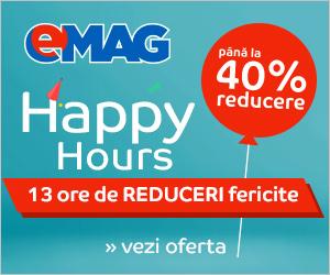 Campanie de reduceri Happy Hours 24 iunie 2018