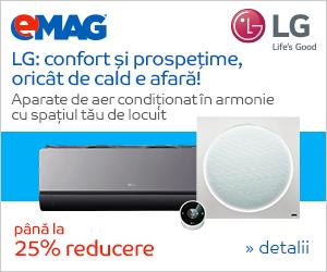 Campanie de reduceri Aer conditionat LG
