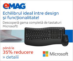 Campanie de reduceri [IT] Campanie tastaturi Microsoft, 26- 30.06.2018