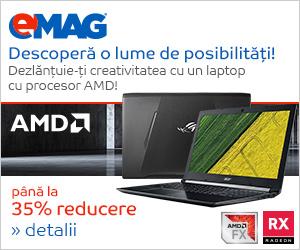 Campanie de reduceri [Laptops] Laptopuri cu procesor AMD, 26.06- 03.07.2018