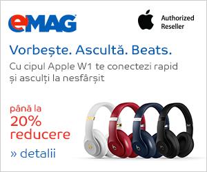 Campanie de reduceri Apple Beats