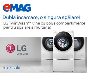 Campanie de reduceri Masini de spalat rufe TwinWash LG