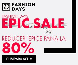 Campanie de reduceri Epic Sale - reduceri epice de pana la 80%