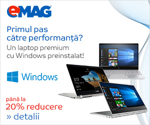 Campanie de reduceri [Laptops] Laptopuri premium cu Windows pana la 20% reducere, 26- 30.06.2018