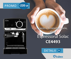 Campanie de reduceri 10% Comision pentru espressorul CE4493