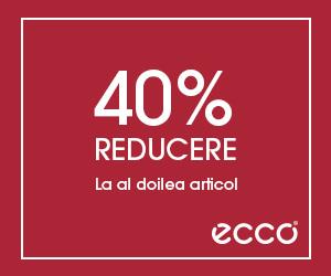 Campanie de reduceri 40% Reducere la al doilea articol