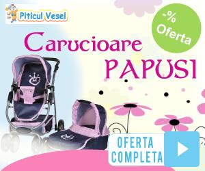 Campanie de reduceri Carucioare pentru papusi:::Jucaria perfecta pentru fetite