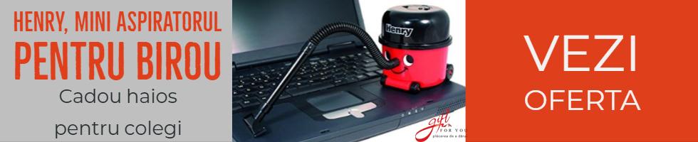 Campanie de reduceri Henry, mini aspirator pentru birou