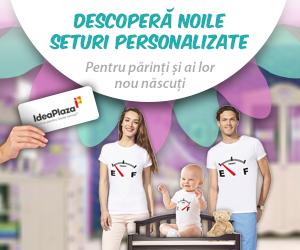 Campanie de reduceri Set Tricouri si Body Personalizat