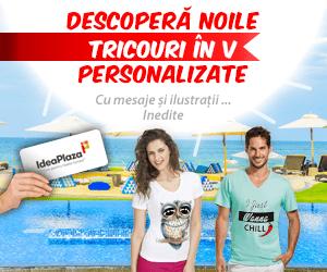 Campanie de reduceri Tricouri Personalizate in V