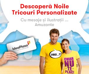 Campanie de reduceri Tricouri Personalizate IdeaPlaza