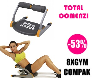 Campanie de reduceri Echipament Antrenament 8xGym Compak