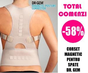 Campanie de reduceri Corset pentru Spate Magnetic Dr Gem