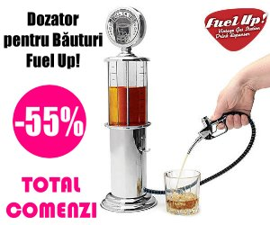Campanie de reduceri Dozator de Băuturi Fuel Up!