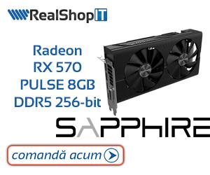 Campanie de reduceri Radeon RX 570 PULSE 8GB DDR5 256-bit