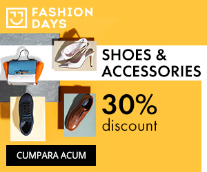 Campanie de reduceri Shoes & Accessories - 30% discount