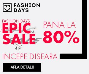 Campanie de reduceri Teaser Epic Sale - reduceri epice de pana la 80%