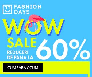 Campanie de reduceri Wow Sale - reduceri de pana la 60%