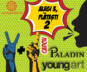 Campanie de reduceri 2 + 1 carte gratis de la Young ART si Paladin!