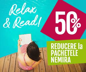 Campanie de reduceri Relax & Read! 50% reducere la Pachetele Nemira!